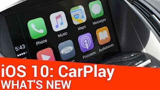Repeat youtube video What's New with CarPlay in iOS 10