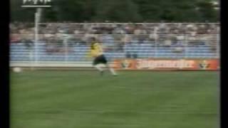 Tor des Monats im Juli 1993 - Rohde + Junghans im Spiel Jena-Hertha