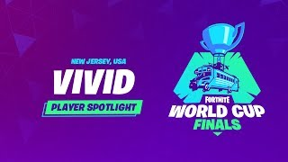 Fortnite World Cup Finals - Player Profile - Vivid