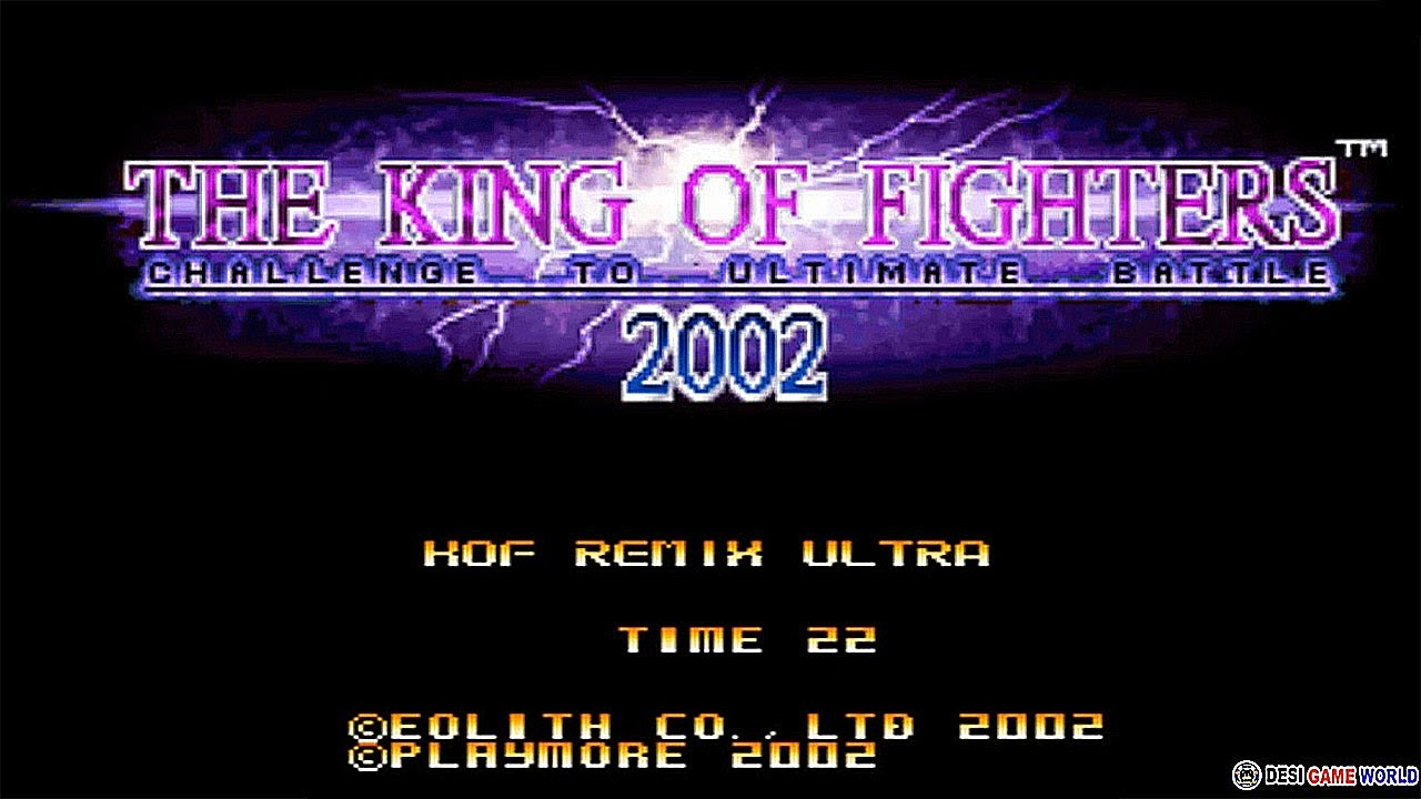 The King Of Fighter 2002 Remix Ultra - Hack Purple Color
