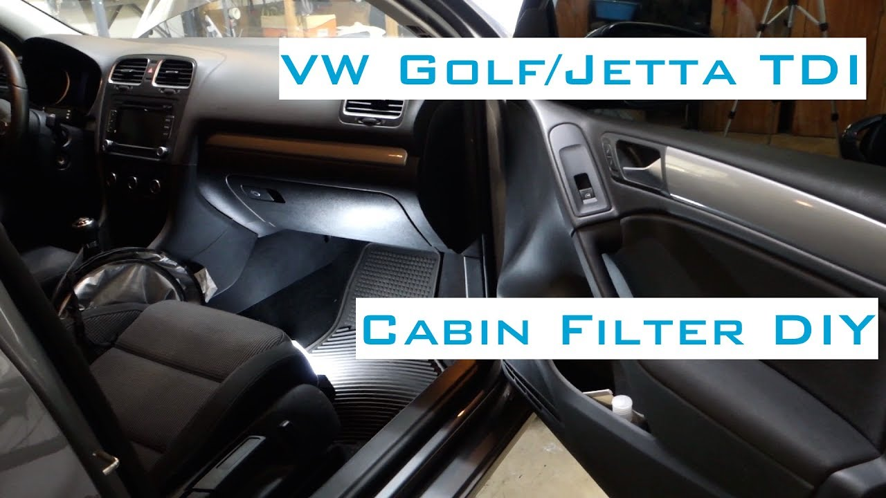how to change air filter vw jetta mk5