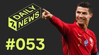 Cristiano Ronaldo bricht den nächsten Rekord! Alaba: Keine Einigung in Sicht! Carrasco ist zurück!