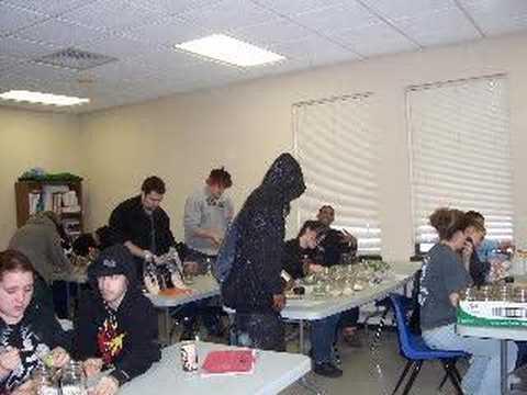 Life Skills Center of Elyria students work on Mason Jar soup