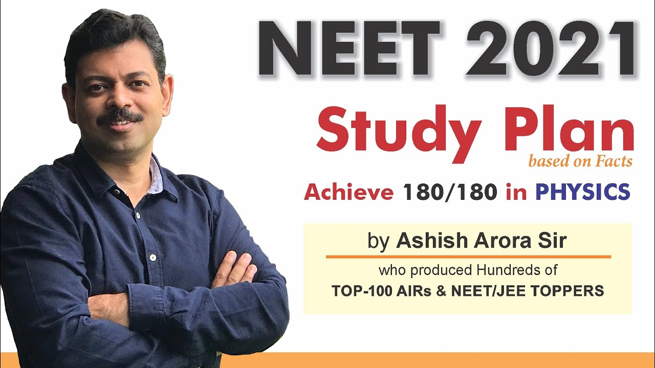 NEET 2021 Study Plan | How to Score 180 in Physics