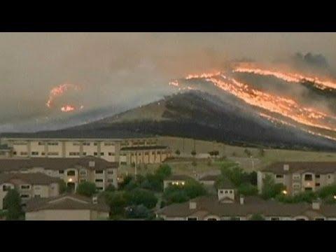 """Le Colorado en proie à des feux de forêts """"inouïs"""""""
