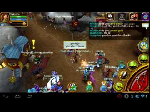 Arcane Legends Selling Gold