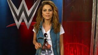 Maria Menounos channels her inner Dusty Rhodes: March 29, 2015