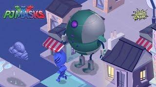 CATBOY avoids ROMEO's Robot! | PJ Masks: Super City Run By Entertainment One