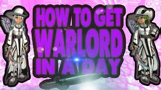How TO Get Warlord In A Day 4th Age PvP (wizard101) (2017)