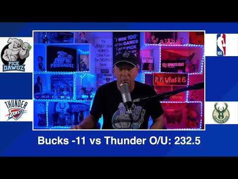 Milwaukee Bucks vs Oklahoma City Thunder 2/19/21 Free NBA Pick and Prediction NBA Betting Tips