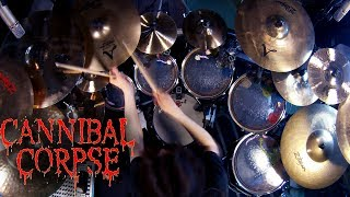 Cannibal Corpse up-tuned medley (Drumming cut)
