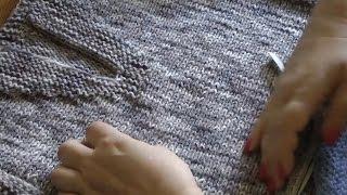 Вяжем спицами мужской свитер