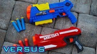 Video [VS] Nerf Mega Magnus vs. Air Warriors Boss | Which is Better?! download MP3, 3GP, MP4, WEBM, AVI, FLV Agustus 2017