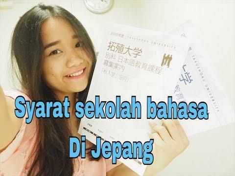 SYARAT SEKOLAH BAHASA DI JEPANG ( STUDY IN JAPAN  )