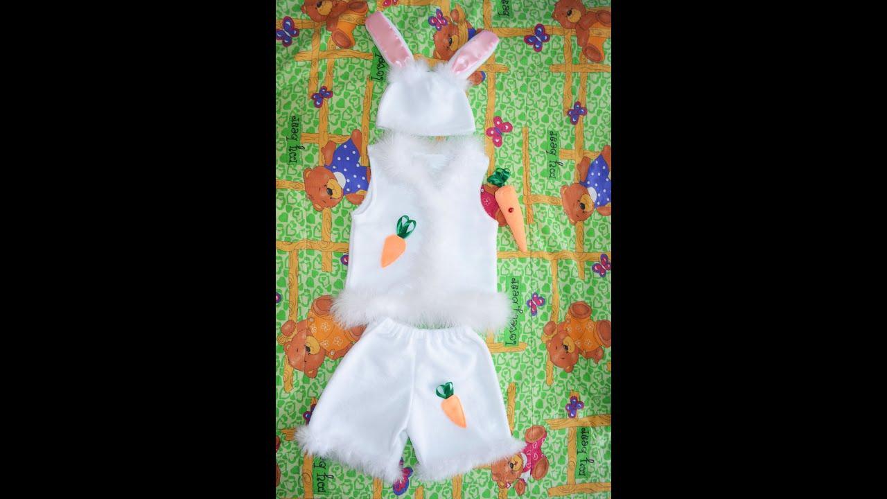 Новогодний костюм зайчика - YouTube - photo#22