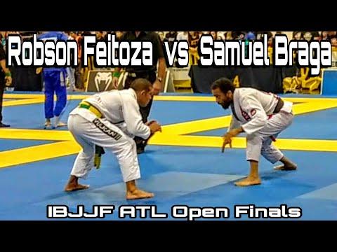 IBJJF ATL Open 2018 Samuel Braga vs Robson Feitoza finals match