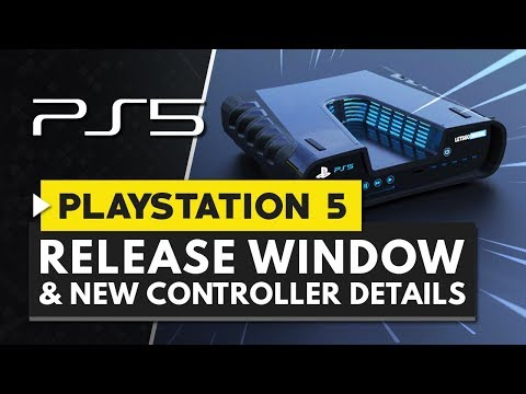 PLAYSTATION 5 Release Date Window Confirmed & New Controller Details