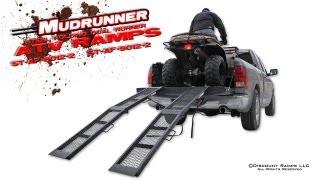 ST-AF-8012-2 - Mudrunner Steel Folding ATV Ramps