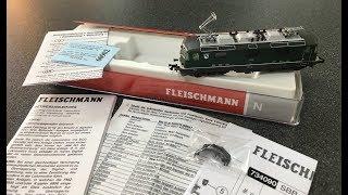 Spur-N, Fleischmann 734090 E-Lok Re 4/4 SBB, Digital mit Sound