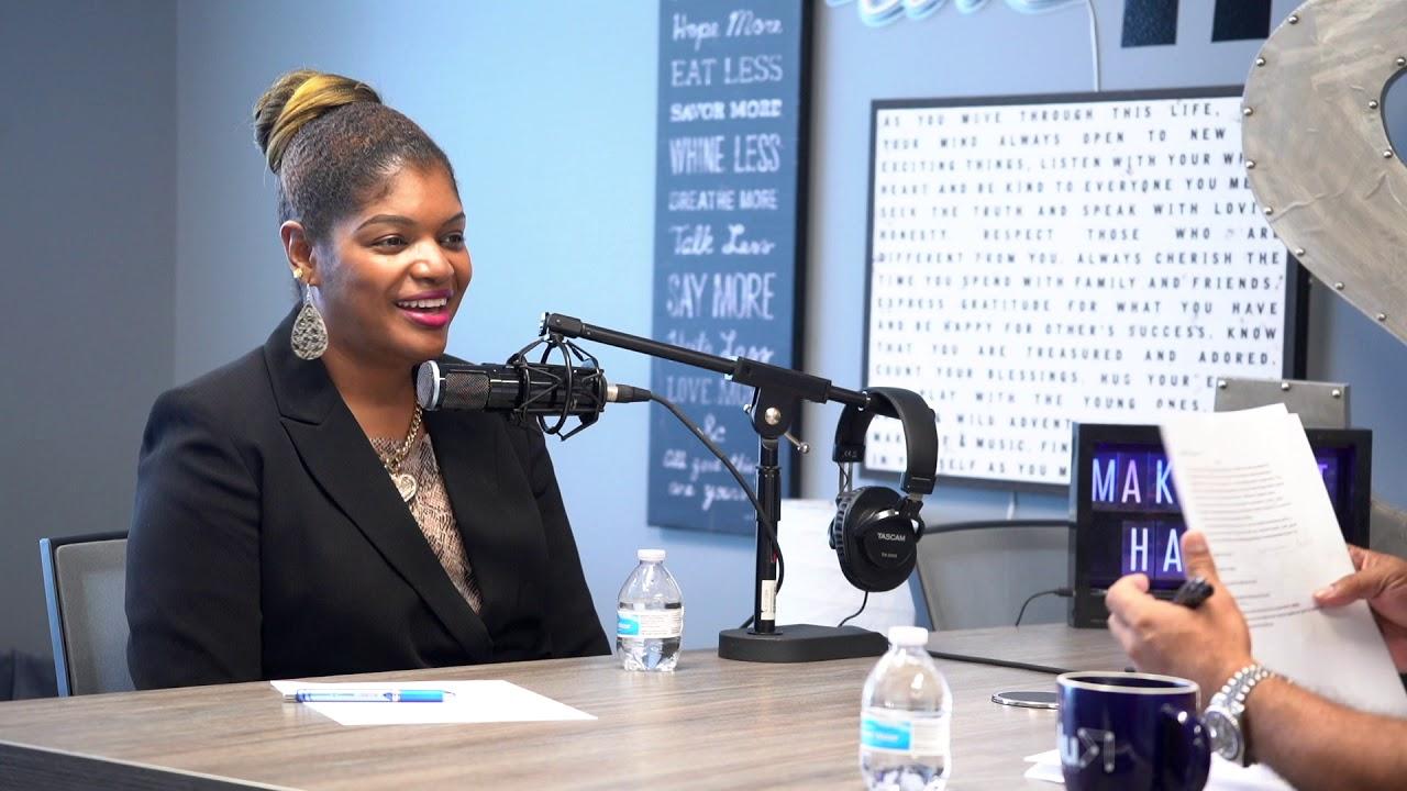 "Dr. Tyra Jones' Interview with Sammy Z of ""Make Shit Happen"""
