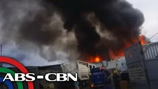TV Patrol: Sunog sumiklab sa residential area sa Las Piñas
