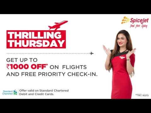 SpiceJet's Thrilling Thursday Offer