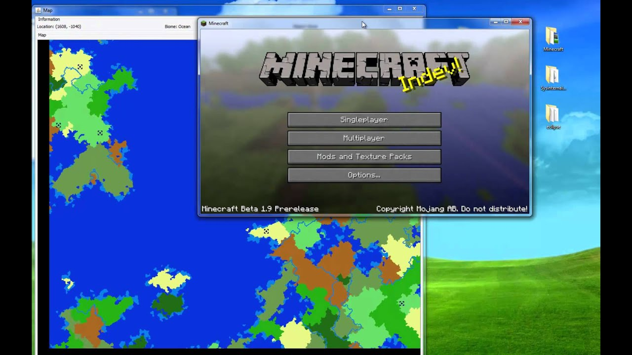 MineAtlas is a biome map of your Minecraft world seed. It also works as a village finder, slime finder, ocean monument finder and other things finder. Load a .