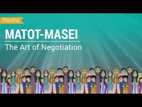 Parshat Matot-Masei: The Art of Negotiation