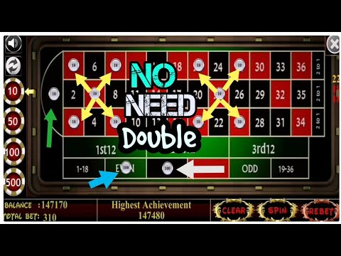 Roulette Keep Doubling Bet