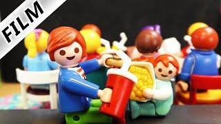 Playmobil Film deutsch   KINO IN LUXUSVILLA - Julians +  Emmas Privatkino   Kinderfilm Familie Vogel
