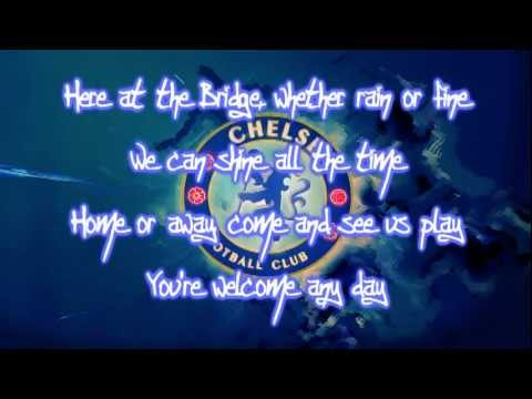 Chelsea Fc Theme Song Blue Is The Color Lyrics Hd You Flv