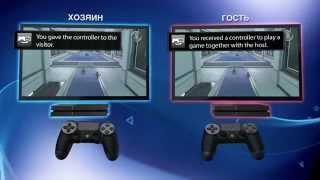 Эксклюзивная функция Share Play для PlayStation 4