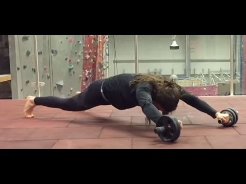 the ultimate ab wheel workout  youtube