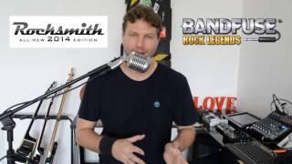 Rocksmith - Bandfuse - Ligando uma guitarra no vídeo-game. Jogando!!!