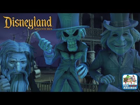 Disneyland Adventures - Take A Tour of The Haunted Mansion... If You Dare (Xbox One Gameplay)