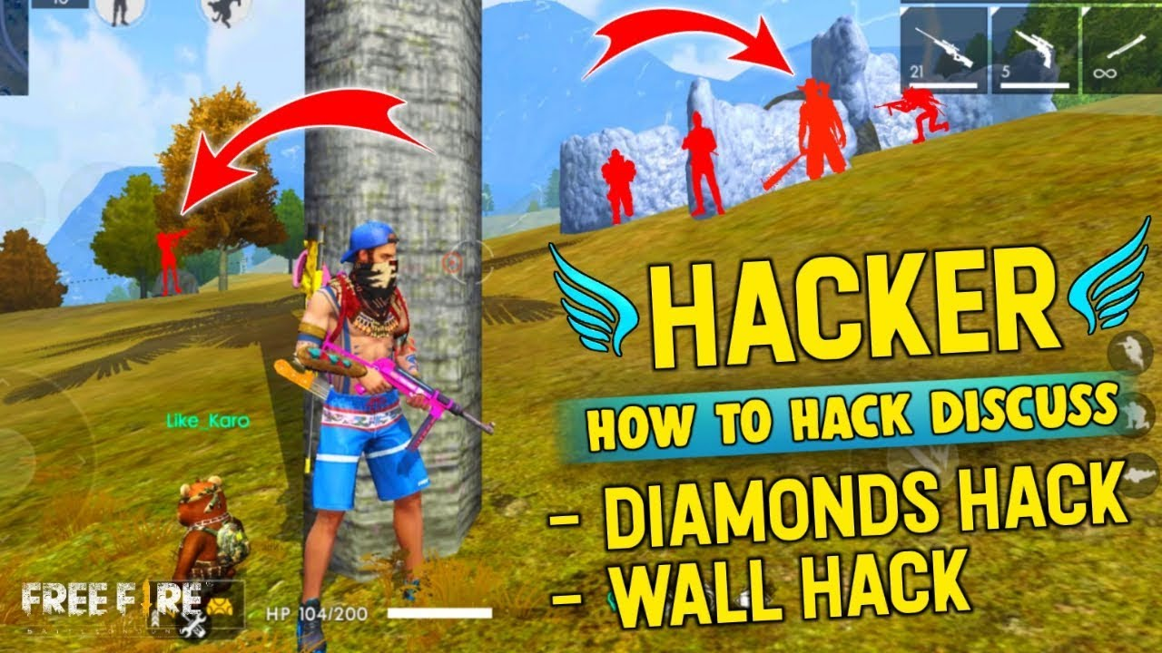 Free Fire Hack, How to Hack Diamond & Wall Discuss - Garena Free Fire
