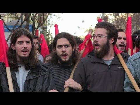 Greeks commemorate 1973 Athens Polytechnic uprising