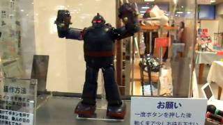 神戸新長田の鉄人28号と昭和展より.