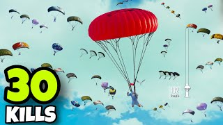 NEW BEST LANDING IN POCHINKI!!! | 30 KILLS SOLO VS SQUADS | PUBG MOBILE