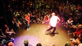 Bailrok vs Flexum| Toprock Finals| Juste Debout USA 2013| Step x Step Dance