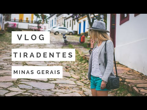Vlog em Tiradentes - MG : Parte 1 - Conhecendo a cidade