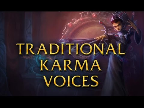 LoL Voices - Traditional Karma - All 16 languages