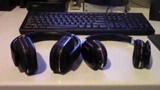 ausdom m07 vs august ep650 bluetooth wireless headphone