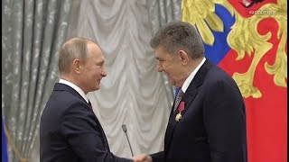 Ара Абрамян  награжден орденом «За заслуги перед Отечеством»