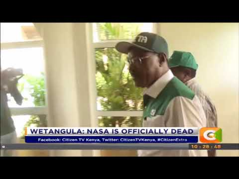 Wetangula blames Odinga as Ford Kenya leaves NASA  #CitizenExtra
