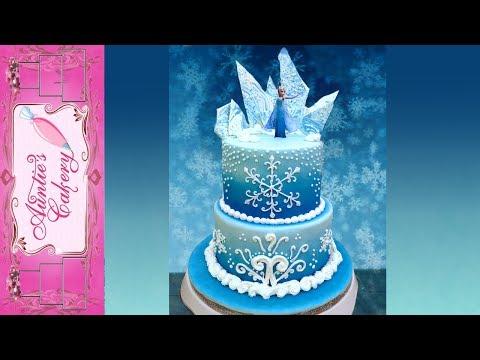 Disney's Frozen Cake-Auntie's Style