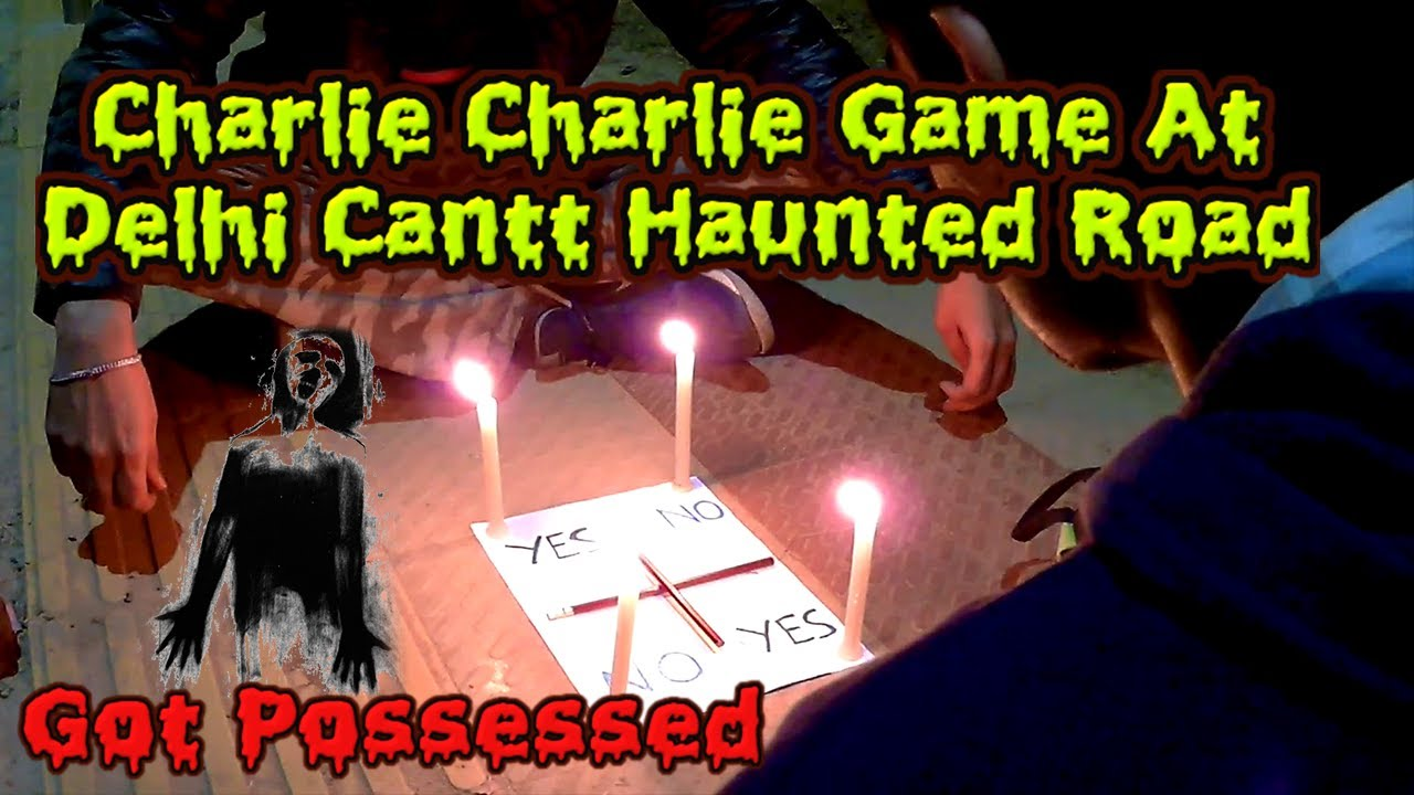 Charlie Charlie Game Played At Haunted Cemetery - BikingMystery