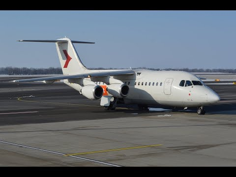 BAe 146-200 - 4 Engines 4 Short Haul 4 Ever, WDL feat. easyJet early morning flight in 4K