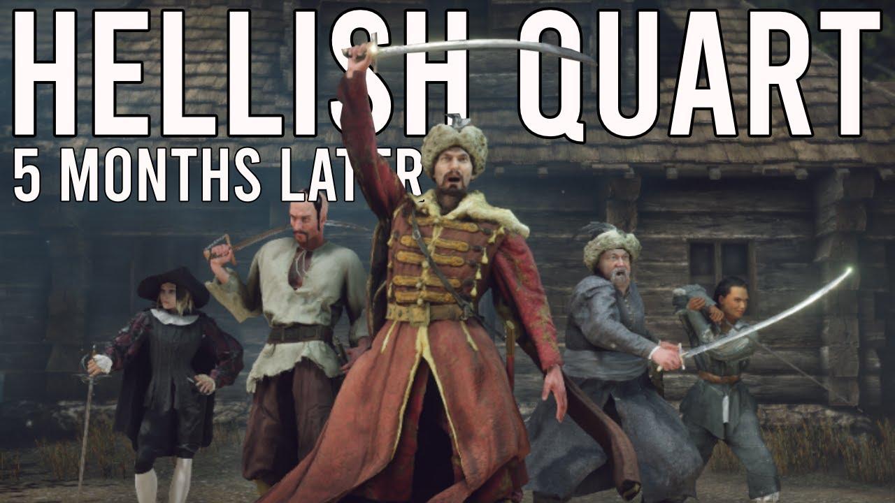 Download HELLISH QUART - 5 Months Later...