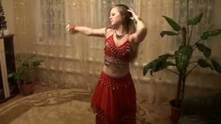 Belly Dance-15 year old cute girl belly dance video